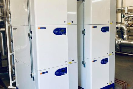 Hamworthy Fleet 350v boiler modules
